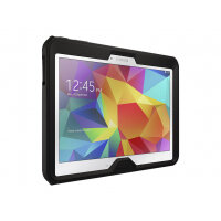 OtterBox Defender Series Samsung Galaxy Tab 4 (10.1 in) - Protective case for tablet - polycarbonate, synthetic rubber - black - for Samsung Galaxy Tab 4 (10.1 in)
