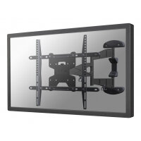 "NewStar TV/Monitor Wall Mount (Full Motion) for 32""-60"" Screen - Black - Adjustable arm for LCD / plasma panel (Tilt & Swivel) - aluminium - black - screen size: 32""-60"" - wall-mountable"