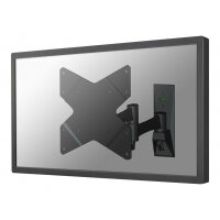 "NewStar TV/Monitor Wall Mount (Full Motion) for 10""-40"" Screen - Black - Adjustable arm for LCD / plasma panel (Tilt & Swivel) - black - screen size: 10""-40"" - wall-mountable"