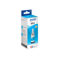 Epson T6641 - 70 ml - black - ink refill - for Epson L380, L386