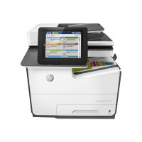 HP PageWide Enterprise Color MFP 586dn - Multifunction printer - colour - page wide array - A4 (210 x 297 mm), Legal (216 x 356 mm) (original) - A4/Legal (media) - up to 50 ppm (copying) - up to 50 ppm (printing) - 550 sheets - USB 2.0, Gigabit LAN, USB 2
