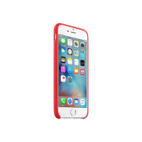 Apple (PRODUCT) RED - Back cover for mobile phone - leather - red - for iPhone 6, 6s