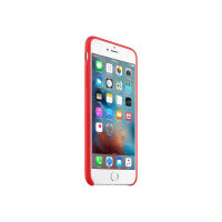 Apple (PRODUCT) RED - Back cover for mobile phone - leather - red - for iPhone 6 Plus, 6s Plus