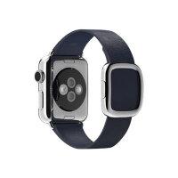 Apple 38mm Modern Buckle - Medium - watch strap - midnight blue - for Watch (38 mm)