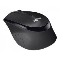 Logitech B330 Silent Plus - Mouse - optical - 3 buttons - wireless - 2.4 GHz - USB wireless receiver