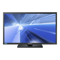 "Samsung SE450 Series S24E450D - LED Computer Monitor - 24"" - 1920 x 1080 Full HD (1080p) - TN - 250 cd/m² - 1000:1 - 5 ms - DVI, VGA, DisplayPort - black"