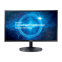 "Samsung CFG7 Series C24FG70FQU - LED Computer Monitor - curved - 24"" (23.5"" viewable) - 1920 x 1080 Full HD (1080p) - 350 cd/m² - 3000:1 - 1 ms - 2xHDMI, DisplayPort - matte black"