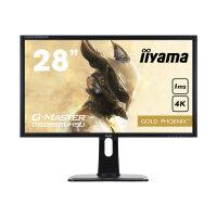 "Iiyama G-MASTER GB2888UHSU-B1 Gold Phoenix - LED Computer Monitor - 28"" (28"" viewable) - 3840 x 2160 4K UHD (2160p) - TN - 300 cd/m² - 1000:1 - 1 ms - 2xHDMI, HDMI (MHL), VGA, DisplayPort - speakers - black"