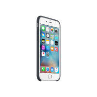 Apple - Back cover for mobile phone - silicone - charcoal grey - for iPhone 6, 6s
