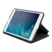 Targus Click-In - Flip cover for tablet - polyurethane - black - for Apple iPad mini; iPad mini 2; 3