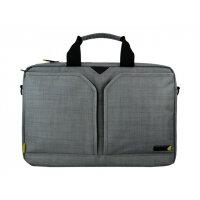 "Tech air EVO Laptop Shoulder Bag - Notebook carrying case - Laptop Bag - 15.6"" - grey texturised"