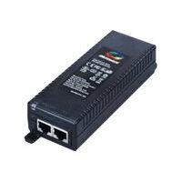 Microsemi PD-9001GR/AT - PoE injector - AC 100-240 V - 30 Watt - output connectors: 1