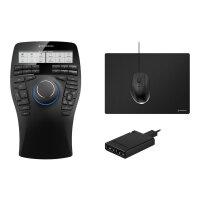 3Dconnexion SpaceMouse Enterprise Kit - 3D mouse - 31 buttons - wired - USB