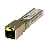Dell - SFP (mini-GBIC) transceiver module - GigE - 1000Base-T - RJ-45 - for Force10; Force10 TeraScale E-Series; Networking C7008; PowerConnect 81XX