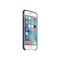 Apple - Back cover for mobile phone - silicone - midnight blue - for iPhone 6, 6s
