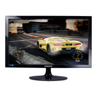 "Samsung SD300 Series S24D330H - LED Computer Monitor - 24"" - 1920 x 1080 Full HD (1080p) - TN - 250 cd/m² - 1000:1 - 1 ms - HDMI, VGA - high glossy black"