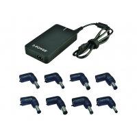 2-Power Universal Slimline - Power adapter - AC 230 V - 90 Watt - Europe