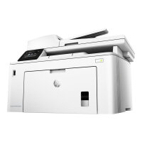 HP LaserJet Pro MFP M227fdw - Multifunction printer - B/W - laser - Legal (216 x 356 mm) (original) - A4/Legal (media) - up to 28 ppm (copying) - up to 28 ppm (printing) - 260 sheets - 33.6 Kbps - USB 2.0, LAN, Wi-Fi(n), NFC