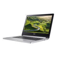 "Acer Chromebook R 13 CB5-312T-K1TR - Flip Design Laptop - MT8173 2.1 GHz - Chrome OS - 4 GB RAM - 64 GB eMMC - 13.3"" IPS touchscreen 1920 x 1080 (Full HD) - PowerVR GX6250 - Wi-Fi - sparkly silver - kbd: UK - Up to 12 Hours Battery Life"