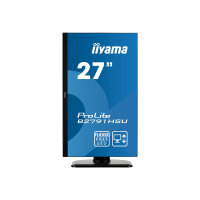 "Iiyama ProLite B2791HSU-B1 - LED Computer Monitor - 27"" - 1920 x 1080 Full HD (1080p) - TN - 300 cd/m² - 1000:1 - 1 ms - HDMI, VGA, DisplayPort - speakers - black"