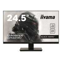 "Iiyama G-MASTER Black Hawk G2530HSU-B1 - LED Computer Monitor - 24.5"" - 1920 x 1080 Full HD (1080p) - TN - 250 cd/m² - 1000:1 - 1 ms - HDMI, VGA, DisplayPort - speakers - black"
