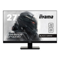 "Iiyama G-MASTER Black Hawk G2730HSU-B1 - LED Computer Monitor - 27"" (27"" viewable) - 1920 x 1080 Full HD (1080p) - TN - 300 cd/m² - 1000:1 - 1 ms - HDMI, VGA, DisplayPort - speakers - black"