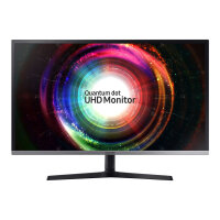 "Samsung UH85 Series U32H850UMU - LED Computer Monitor - 32"" (31.5"" viewable) - 3840 x 2160 4K - VA - 250 cd/m² - 3000:1 - 4 ms - 2xHDMI, DisplayPort, Mini DisplayPort - black, silver"