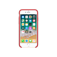 Apple (PRODUCT) RED - Back cover for mobile phone - silicone - red - for iPhone 7, 8