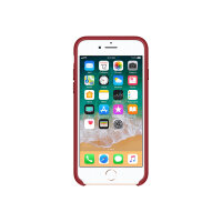 Apple (PRODUCT) RED - Back cover for mobile phone - leather - red - for iPhone 7, 8
