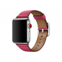 Apple 38mm Classic Buckle - Watch strap - 130-195 mm - fuchsia pink - for Watch (38 mm)