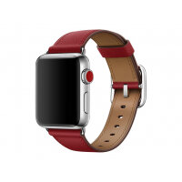 Apple 38mm Classic Buckle - Watch strap - 130-195 mm - ruby - for Watch (38 mm)