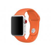 Apple 38mm Sport Band - Watch strap - 130-200 mm - spicy orange - for Watch (38 mm)