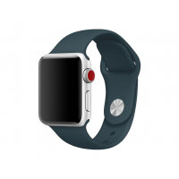 Apple 38mm Sport Band - Watch strap - 130-200 mm - dark teal - for Watch (38 mm)