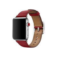 Apple 42mm Classic Buckle - Watch strap - 150-215 mm - product (RED) - for Watch (42 mm)