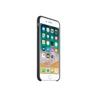 Apple - Back cover for mobile phone - silicone - black - for iPhone 7 Plus, 8 Plus