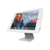 "Compulocks Space 360 - iPad 12.9"" Counter Top Kiosk - White - Mounting kit (desk stand, anti-theft enclosure, VESA adapter) for Apple iPad Pro - lockable - high-grade aluminium - white - for Apple 12.9-inch iPad Pro"