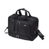"DICOTA Top Traveller Twin PRO Laptop Bag 15.6"" - Notebook carrying case - 15.6"""