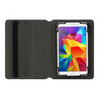 Griffin SnapBook Universal - Flip cover for tablet - polycarbonate, thermoplastic polyurethane - black