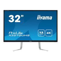 "Iiyama ProLite X3272UHS-B1 - LED Computer Monitor - 31.5"" (31.5"" viewable) - 3840 x 2160 4K - VA - 300 cd/m² - 3000:1 - 3 ms - 2xHDMI, DisplayPort - speakers - black"