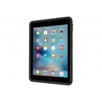 Incipio CAPTURE - Back cover for tablet - rugged - silicone, polycarbonate, polymer - black - for Apple 9.7-inch iPad Pro