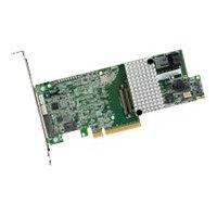LSI MegaRAID SAS 9361-4i - Storage controller (RAID) - SATA 6Gb/s / SAS 12Gb/s low profile - 1.2 GBps - RAID 0, 1, 5, 6, 10, 50, 60 - PCIe 3.0 x8