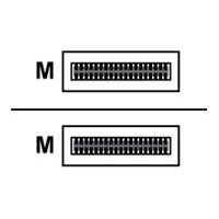Mellanox - InfiniBand cable - QSFP to QSFP - 3 m