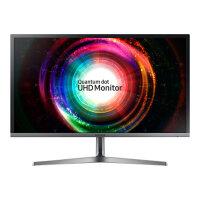 "Samsung UH75 Series U28H750UQU - LED Computer Monitor - 28"" (27.9"" viewable) - 3840 x 2160 4K - TN - 300 cd/m² - 1000:1 - 1 ms - 2xHDMI, DisplayPort - black, silver"