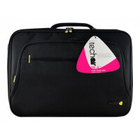 "techair Briefcase Classic TANZ0109V3 - Notebook carrying case - Laptop Bag - 18.4"" - black"