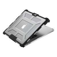 """UAG Plasma Series Rugged Case for MacBook Pro 15-inch w/ Touch Bar (4th Gen) - Notebook top and rear cover - 15"""" - ice - for Apple MacBook Pro 15.4"""" (Late 2016)"""