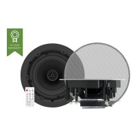 Vision CS-1800P - Speakers - wireless - Bluetooth - 30 Watt - 2-way - coaxial - white (grille colour - white)