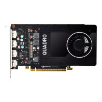 NVIDIA Quadro P2000 - Graphics card - Quadro P2000 - 5 GB GDDR5 - PCIe 3.0 x16 - 4 x DisplayPort - retail
