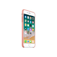 Apple - Back cover for mobile phone - leather - soft pink - for iPhone 7 Plus, 8 Plus