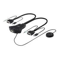 Belkin Secure Flip DVI-D KVM Switch - KVM / audio switch - 2 x KVM / audio - 1 local user - desktop - for P/N: F1DN104E-3EA