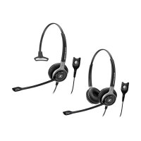 Sennheiser SC 668 - Century - headset - on-ear - wired - black with silver